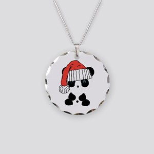 Santa Panda Bear Necklace