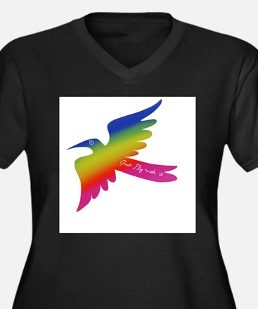 Just Fly With It. Plus Size T-Shirt