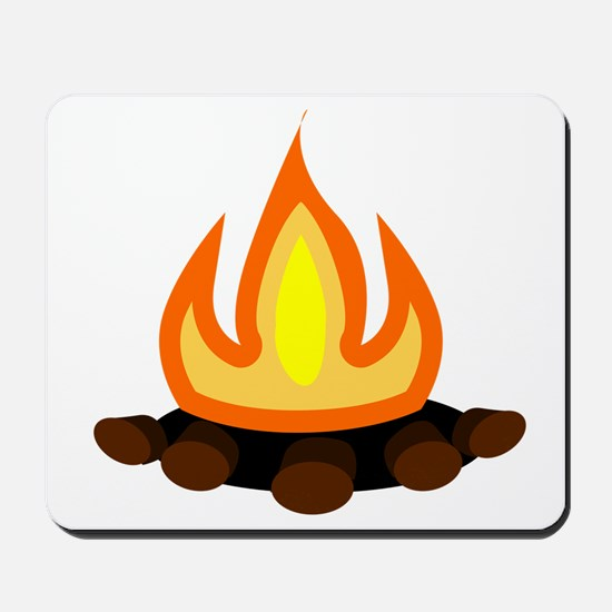 Camp Fire Mousepad