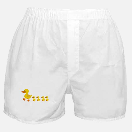 Cute Duck Boxer Shorts
