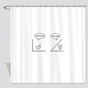 Youre Acute Shower Curtain