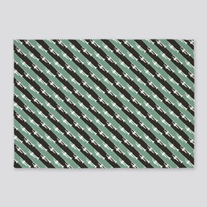 Trumpet Stripes 5'x7'area Rug