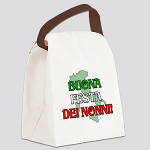 BUONA FESTA DEI NONNI Canvas Lunch Bag