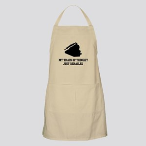 My Train Of Thought Just Derailed Apron