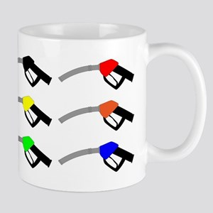 Petrol Pump Icons Mugs