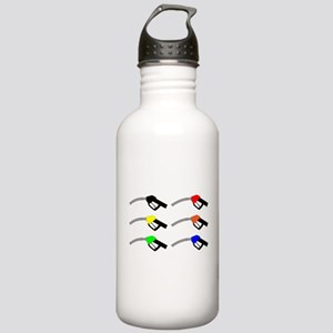 Petrol Pump Icons Stainless Water Bottle 1.0L