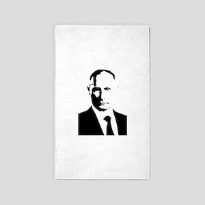 Vladimir Putin 3'x5' Area Rug