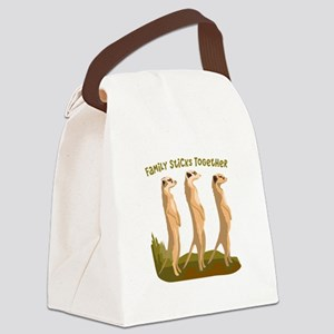Family Sticks Together Canvas Lunch Bag