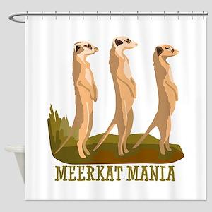 Meerkat Mania Shower Curtain