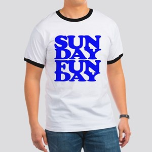 Sunday Funday Blue T-Shirt