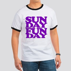 Sunday Funday Purple T-Shirt