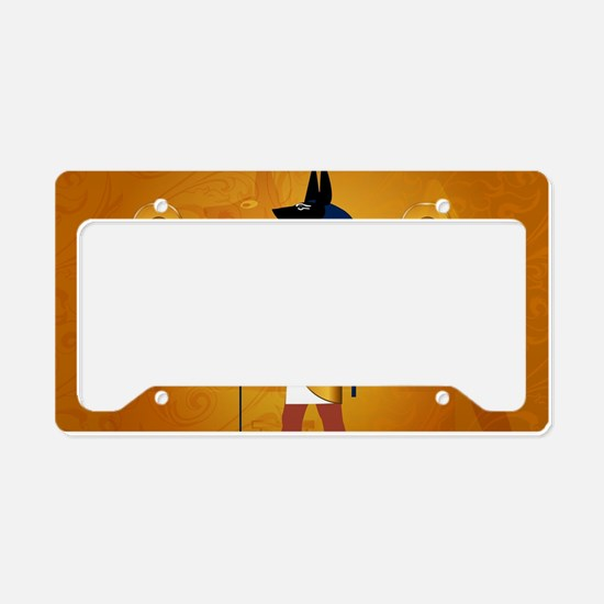 Anubis1 License Plate Holder