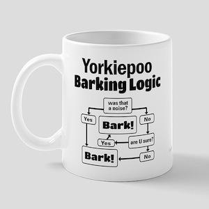 Yorkiepoo logic Mug