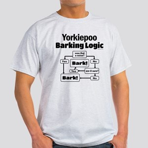 Yorkiepoo logic Light T-Shirt