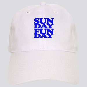 Sunday Funday Blue Baseball Cap