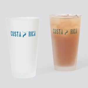 Costa Rica Zip Lining Drinking Glass