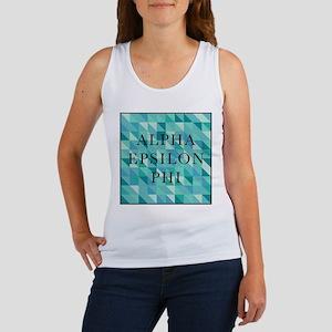 Alpha Epsilon Phi Geometric Women's Tank Top