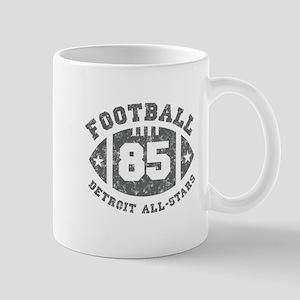 Detroit all stars football Mugs