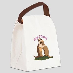 Hugs & Kisses Canvas Lunch Bag