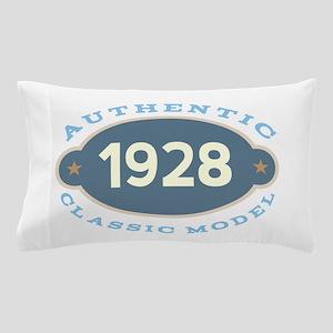 1928 Birth Year Birthday Pillow Case
