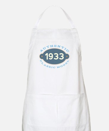 1933 Birth Year Birthday Apron