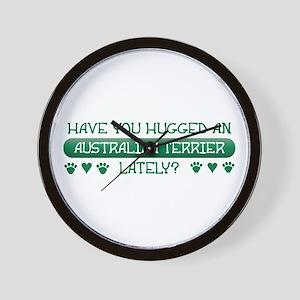 Hugged Aussie Wall Clock