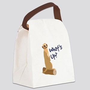 What's Up? Canvas Lunch Bag