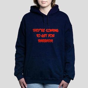 barbara2.png Women's Hooded Sweatshirt