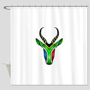 Springbok Flag 2 Shower Curtain