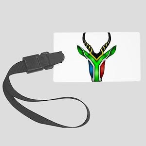 Springbok Flag 2 Luggage Tag