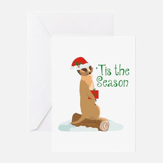 Tis The Season Greeting Cards