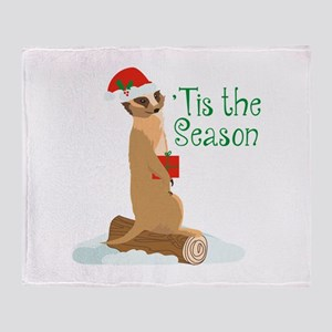 Tis The Season Throw Blanket