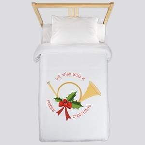 We Wish You A Merry Christmas Twin Duvet