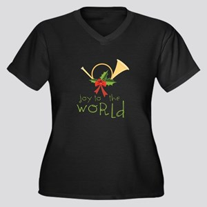 Joy To The World Plus Size T-Shirt