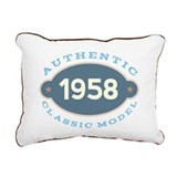 1958 Rectangle Canvas Pillows