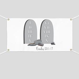 Exodus 20:1-17 Banner