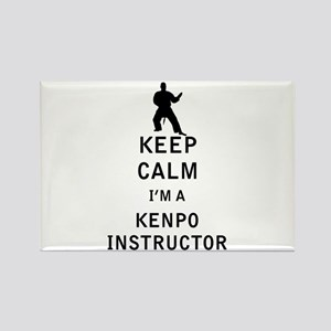 Keep Calm I'm a Kenpo Instructor Magnets