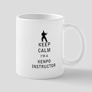 Keep Calm I'm a Kenpo Instructor Mugs