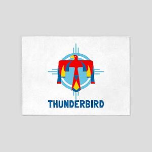 Thunderbird 5'x7'Area Rug