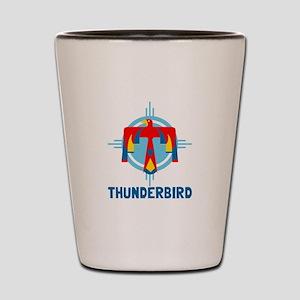 Thunderbird Shot Glass