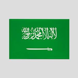 Saudi Arabia Rectangle Magnet