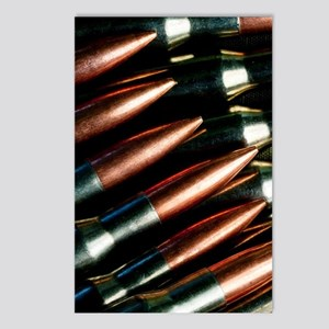 Rifle Bullets Postcards (Package of 8)