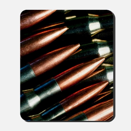 Rifle Bullets Mousepad