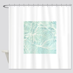 Summer Water Reflection Shower Curtain