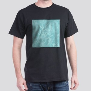 Blue Undersea Coral Shells T-Shirt