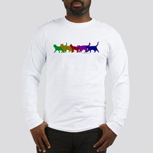 Rainbow cats Long Sleeve T-Shirt