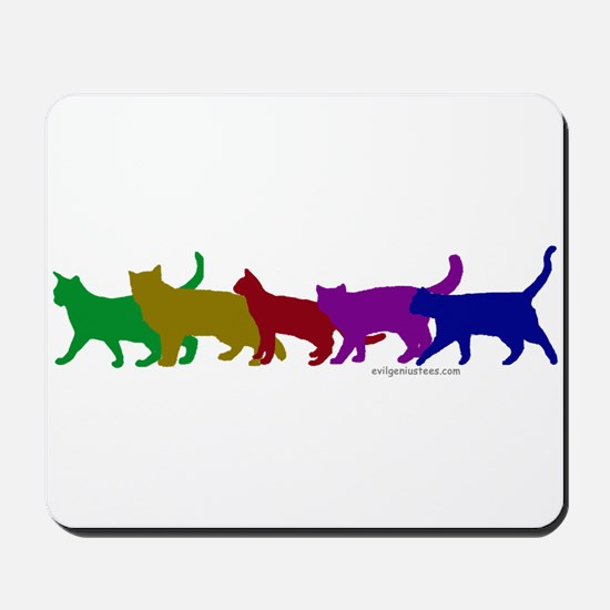 Rainbow cats Mousepad