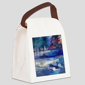 Maritime Fantasy Canvas Lunch Bag