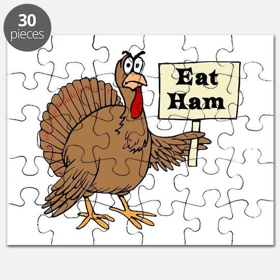 Turkey say Eat Ham Puzzle