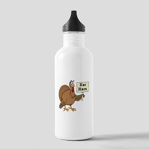 Turkey say Eat Ham Water Bottle